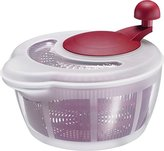 Westmark Germany Vegetable and Salad Spinner with Pouring Spout (Red/Clear)