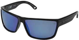 Spy Optic Rocky (Black/Happy Bronze Polar w/ Blue Spectra) Fashion Sunglasses