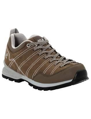 Jack Wolfskin Scrambler Low Women's Waterproof Hiking Shoe Coconut Brown/Light Grey US 5.5 D US