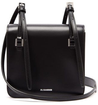 Jil Sander Mini Leather Cross-body Bag - Womens - Black