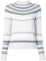 ADAM by Adam Lippes intarsia knit jumper