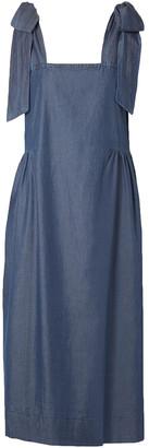 Hatch Katie Cotton And Tencel-blend Dress