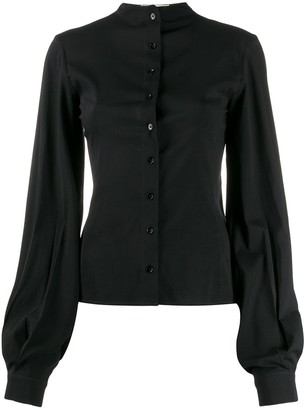 Lemaire bishop sleeve blouse
