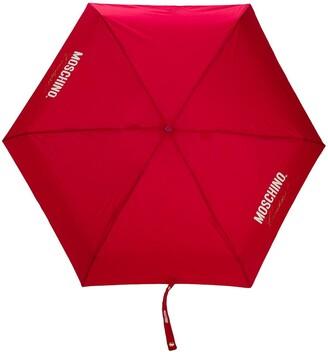 Moschino Couture Print Umbrella