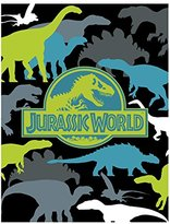 "Universal Jurassic World Prehistoric Microraschel Throw, 46"" x 60"""