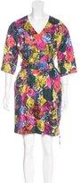 Dries Van Noten Floral Jacquard Dress