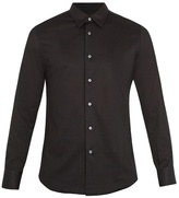 Brioni Long-sleeved Cotton-jersey Shirt