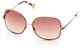 Lucky Brand Indigo Wire Sunglasses