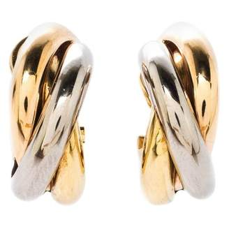 Cartier Trinity Gold Yellow gold Earrings