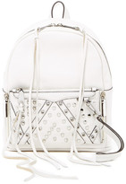 Rebecca Minkoff Small Lola Leather Studded Backpack With Removable Wristlet
