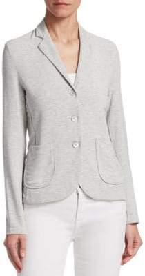 Majestic Filatures Button-Front Blazer