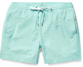 Onia Charles Mid-Length Cotton-Blend Swim Shorts