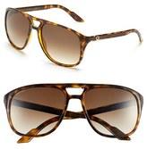 Gucci Men's '1018S' 57Mm Sunglasses - Havana/ Brown Gradient