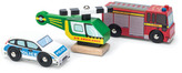 Le Toy Van Emergancy Vehicles - Set of 3