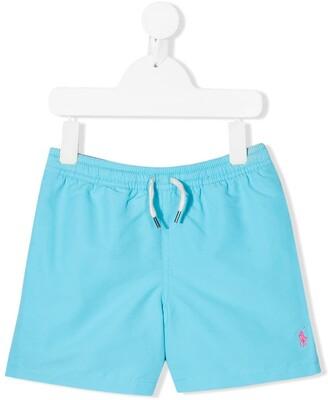 Ralph Lauren Kids Logo Swim Shorts