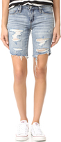 Blank Distressed Shorts