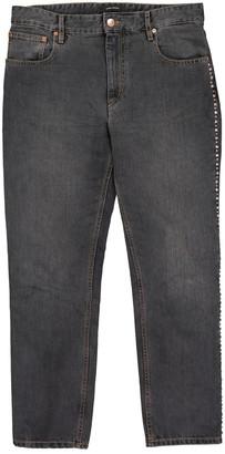 Isabel Marant Black Cotton Jeans