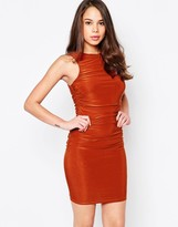 AX Paris Bodycon Mini Dress in Slinky