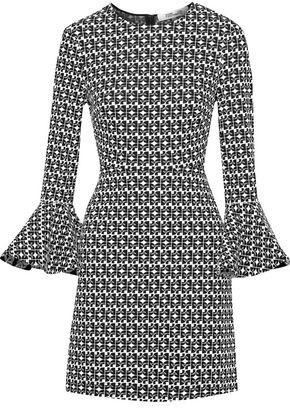 Diane von Furstenberg Louise Jacquard-knit Mini Dress