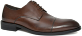 Joseph Abboud Brown Matteo Leather Oxford