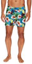Sundek Floral Print Board Shorts