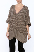 Umgee USA Boho V-Neck Top