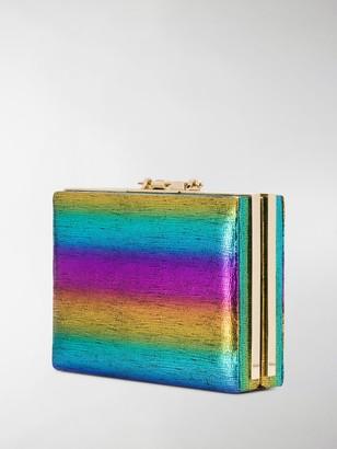 M2Malletier Rainbow Box Clutch