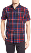 Ben Sherman Madras Plaid Regular Fit Shirt