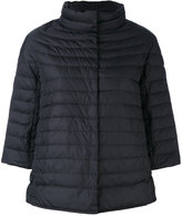 Duvetica three-quarters sleeve down jacket
