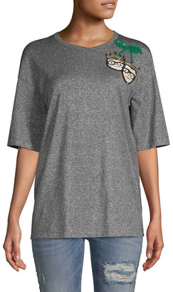 Dolce & Gabbana Family Sequined T-Shirt