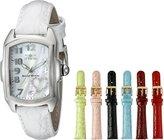 Invicta Women's 0051 Lupah Analog Display Swiss Quartz White Watch