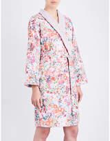 Yves Delorme Milfiori cotton bathrobe
