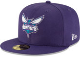 New Era Charlotte Hornets Solid Team 59FIFTY Cap