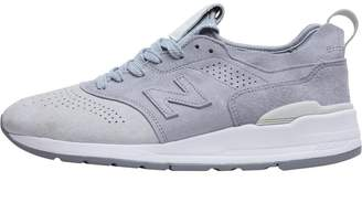 New Balance Mens 997 Color Spectrum Made In USA Trainers Light Grey/Silver Mink