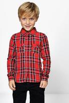 Boohoo Boys Tartan Check Shirt