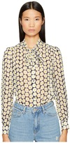 Love Moschino Daisy Knot Top Women's Clothing