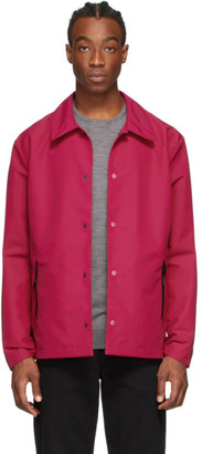 The Very Warm Pink Seam Sealed Jacket