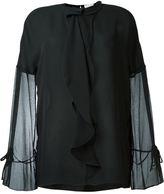3.1 Phillip Lim semi-sheer ruffled blouse - women - Silk - 6