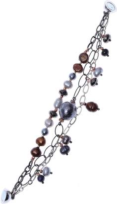 Nakamol Chicago Cultured Pearl Chain Bracelet