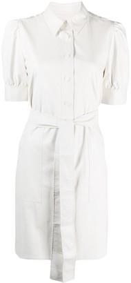 Twin-Set Short-Sleeve Shirtdress