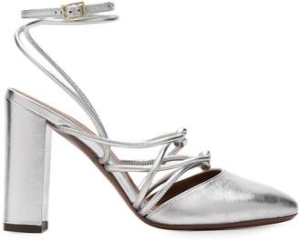 L'Autre Chose almond toe strappy knot sandals