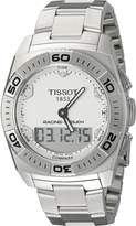 Tissot Men's T0025201103100 Racing-T-Touch Multifunction Analog Chronograph Dial Watch