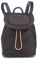 Diane von Furstenberg Women's Satin Backpack Black