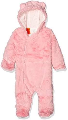 Pumpkin Patch Baby Girls 0-24m Furry All-in-One Footies,(Manufacturer Size:3-6M)