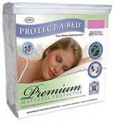 Protect A Bed Protect-A-Bed Premium Waterproof Mattress Protector, Olympic Queen