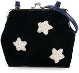 Familiar sequin star detail shoulder bag