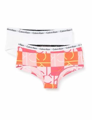 Calvin Klein Girl's 2PK Shorty Knickers