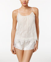 Flora Nikrooz Ophelia Embroidered Cami and Shorts Pajama Set