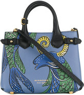Burberry small beasts print Banner bag