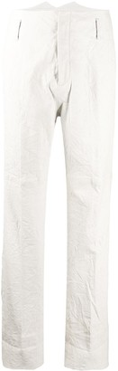 Zadig & Voltaire Fashion Show Pablos crinkled-effect trousers